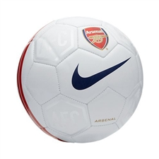 Nike Arsenal FC Supporter's Soccer Ball (White/Blue)