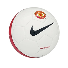 Nike Manchester United Supporter's Soccer Ball (White/Black/Red)