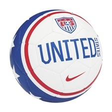 Nike USA Prestige Soccer Ball (White/Blue/Red)