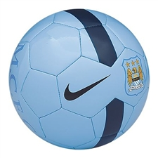 Nike Manchester City Supporter's Soccer Ball (Light Blue/Navy)