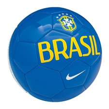 Nike Brasil Supporter Soccer Ball (Blue/Yellow/White)