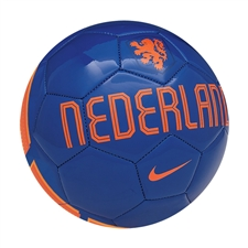 Nike Nederlands Supporter Soccer Ball (Blue/Orange)