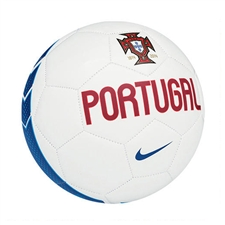 Nike Portugal Supporter Soccer Ball (White/Blue)