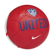 Nike USA Supporter Soccer Ball (Red/White/Blue)