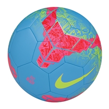 Nike Beach Strike Soccer Ball (Vivid Blue/Pink Flash/Volt)