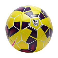 Nike Ordem 2 Hi-Vis EPL Soccer Ball (Yellow/Purple/Pink)