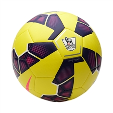 Nike Strike EPL Hi Vis Soccer Ball (Yellow/Purple/Pink)