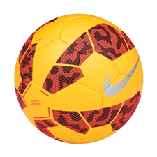 Nike FC247 Rolinho Menor Futsal Soccer Ball (Laser Orange/Hyper Crimson/Black/Chrome)