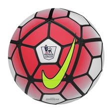 Nike Ordem 3 EPL Soccer Ball (White/Bright Crimson/Black/Volt)