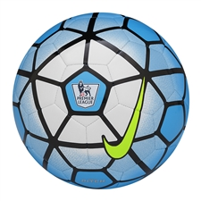 Nike Pitch EPL Soccer Ball (Blue Lagoon/White/Black)