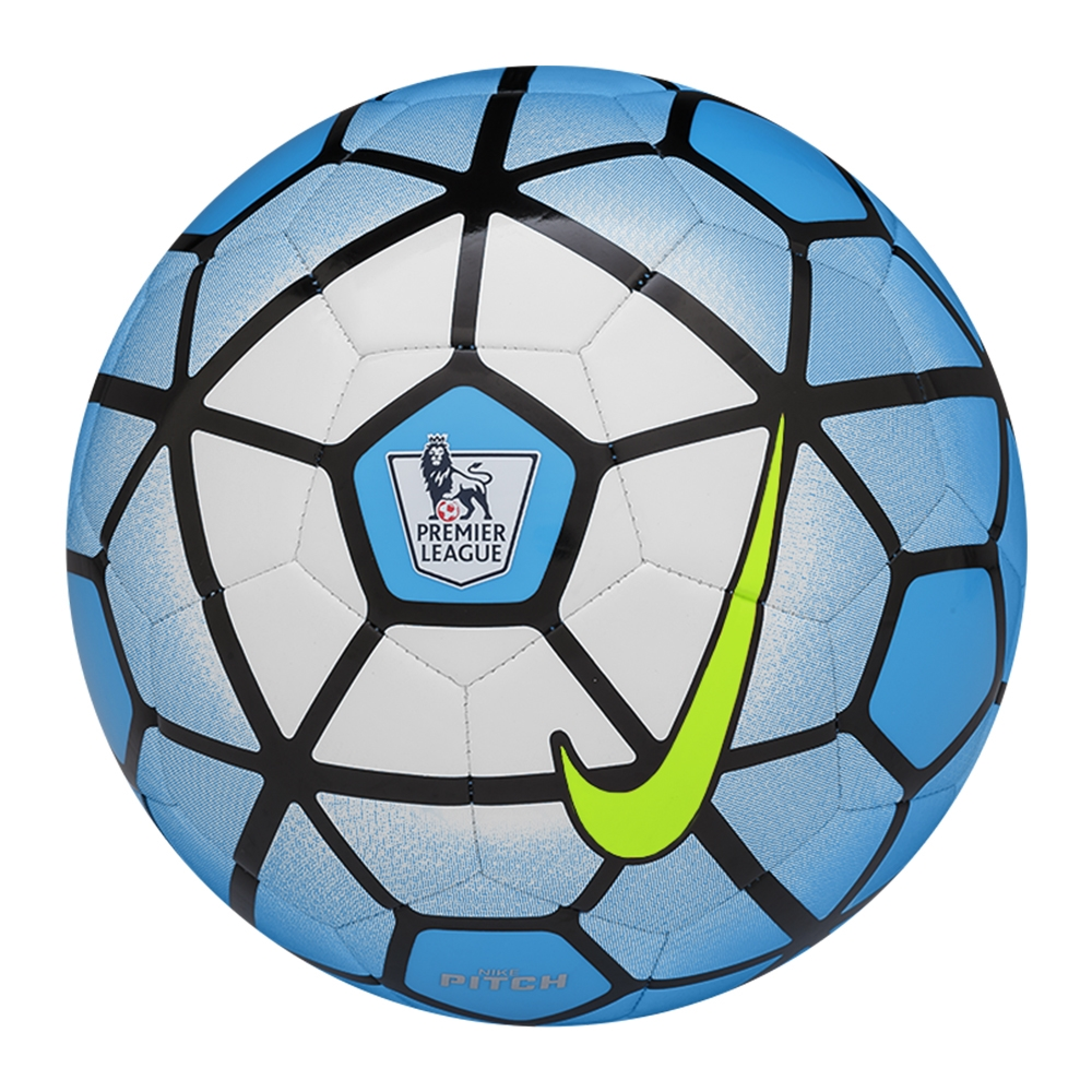 Blue nike soccer ball