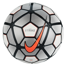 Nike Strike Soccer Ball (Light Bone/White/Bright Crimson)