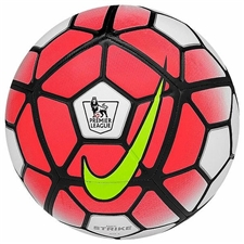 Nike Strike EPL Soccer Ball (White/Bright Crimson/Volt/Black)