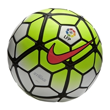 Nike Strike LFP Soccer Ball (White/Volt/Black/Hyper Punch)