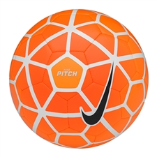 Nike Pitch Soccer Ball (White/Total Orange/Volt)
