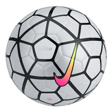 Nike Pitch Soccer Ball (White/White/Multi-Color)