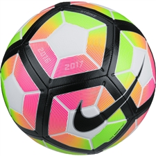 Nike Strike Soccer Ball (White/Pink Blast/Black)