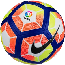 Nike Strike LFP Soccer Ball (White/Orange/Blue/Black)