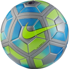 Nike Strike EPL Premier Soccer Ball (Reflect Silver/Royal Blue/Black)
