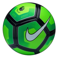 Nike Pitch EPL Soccer Ball (Electric Green/Green/Black/White)