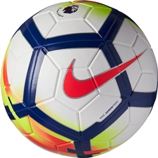 Nike Magia Premier League Match Soccer Ball (White/Crimson/Deep Royal)