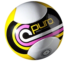 Puro Futebol Mar Beach Pro Series Ball (Yellow/Black/White)