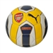 Puma Arsenal Fan Ball 1 Soccer Ball (Empire Yellow/Estate Blue/White)
