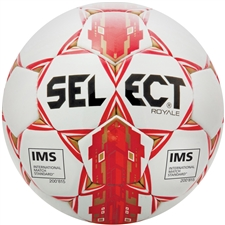 Select Royale 2017 Soccer Ball (White/Red)