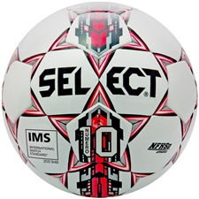 Select Numero 10 Soccer Ball (White/Red)