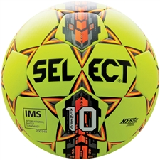 Select Numero 10 Soccer Ball (Yellow/Orange)
