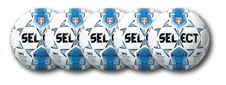 Select Royale Soccer Ball - 5 Pack (Royal/White)