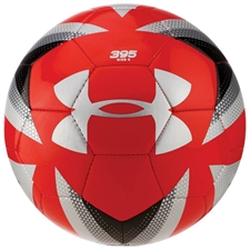 Under Armour Desafio 395 Soccer Ball (Red/Steel)