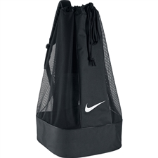 Nike Club Team Swoosh Soccer Ball Bag (Black/White)