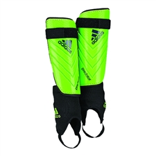 Adidas Predator Club Soccer Shinguards (Solar Green/Rich Blue/Black)