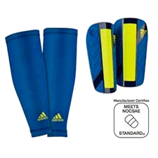 Adidas Nitrocharge Pro Shinguards (Blue Beauty/Night Blue/Electricity)