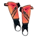 Nike Protegga Shield Shinguards (Bright Citrus/Total Crimson/Black)