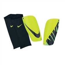 Nike Mercurial Lite Soccer Shinguards (Volt/Black)