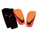Nike Mercurial Lite Soccer Shinguards (Bright Citrus/Total Crimson/Black)