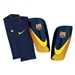 Nike Mercurial Lite FCB Soccer Shinguards (Blue/Red/Yellow)