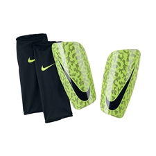 Nike Mercurial Lite '14 Soccer Shinguards (Midnight Fog/Black/Volt)