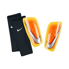 Nike Mercurial Lite '14 Soccer Shinguards (Hyper Crimson/Laser Orange/Chrome)