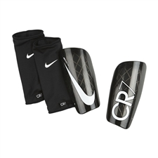 Nike CR7 Mercurial Lite Soccer Shinguards (Black/White)