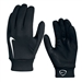 Nike Hyperwarm Field Player Soccer Gloves (Black/White)