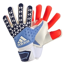 Adidas ACE Zones Pro Manuel Neuer Soccer Goalkeeper Gloves (Solar Red/Dark Blue/Lucky Blue/White)