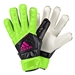 Adidas ACE Fingersave Junior Goalkeeper Gloves (Solar Green/Black/Shock Pink)