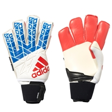 Adidas ACE Trans Ultimate Soccer Goalkeeper Gloves (White/Blue/Red/Core Black)