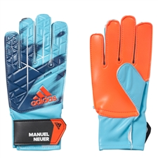 Adidas ACE Junior Manuel Neuer Goalkeeper Gloves (Energy Blue/Black)