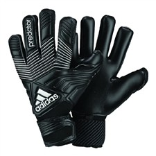 Adidas Predator Pro Classic Soccer Goalkeeper Gloves (Black/White)