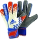 Adidas Predator Pro Wet Grip Soccer Gloves (White/Orange/Blue Beauty)