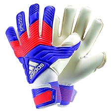 Adidas Predator Pro Classic Soccer Goalkeeper Gloves (Night Flash/Solar Red/White)